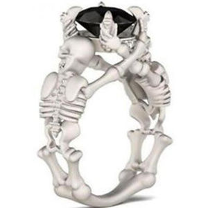 Jewelry - New Skeleton / Skull Ring with Claw Setting